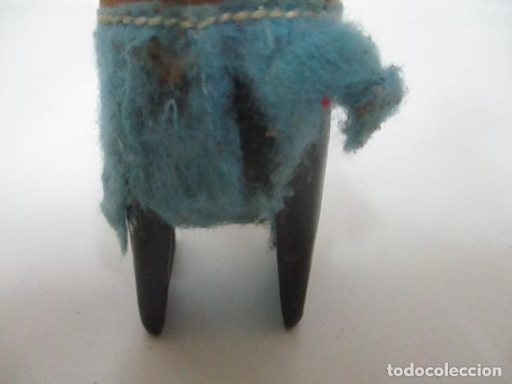 Juguetes antiguos de hojalata: Antiguo Juguete - Oso Bailando con Osito - Hojalata - Muñeco Autómata - Marca Schuco, Foreign - Foto 7 - 150796258