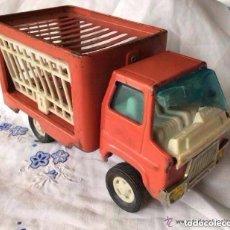 Juguetes antiguos de hojalata - RICO ,Camión animales de RICO Camión metálico, fabricado en España años 70 - 150988686