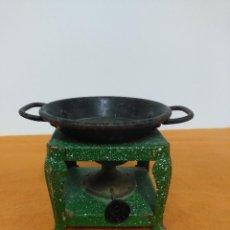 Juguetes antiguos de hojalata: HORNILLO ANTIGUO DE JUGUETE DE HOJALATA. Lote 151285538