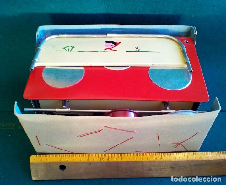 Juguetes antiguos de hojalata: COCINITA PAYÁ DE CHAPA CON CACEROLAS - AÑOS 40 - 50 - ES SU CAJA ORIGINAL - Foto 14 - 151420410