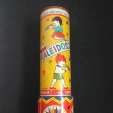 Juguetes antiguos de hojalata: KALEIDOSCOPE 1960 MADE IN ENGLAND. Lote 151998254