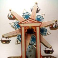Juguetes antiguos de hojalata: FERIA GIRATORIA. Lote 152288166