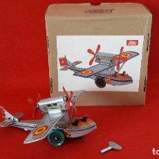 Brinquedos antigos de folha-de-Flandres: HIDROAVION PLUS ULTRA DE PAYA - REPRODUCCION. Lote 154693326
