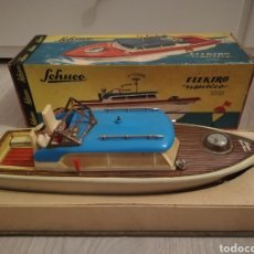 Juguetes antiguos de hojalata: SCHUCO ELEKTRO NAUTICO 5550. Lote 155676198
