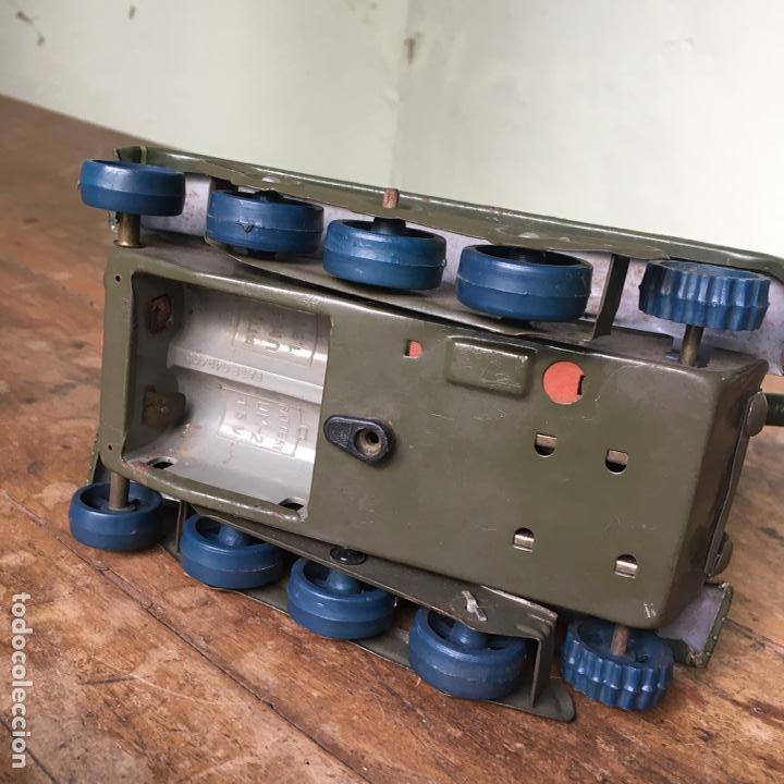 Juguetes antiguos de hojalata: Tanque M-103 de Modern Toys Made in Japan - Foto 10 - 155972858
