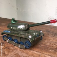 Juguetes antiguos de hojalata: TANQUE M-103 DE MODERN TOYS MADE IN JAPAN. Lote 155972858