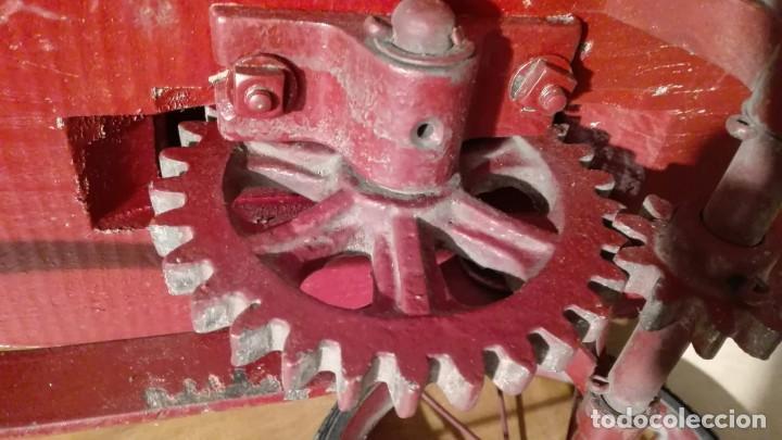 Juguetes antiguos de hojalata: AUTO PATIN DE PALANCA....... NUEVO - Foto 6 - 155985922