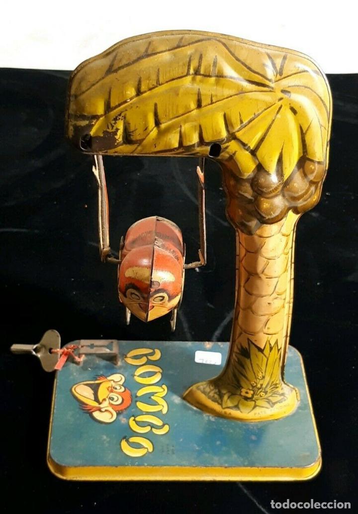 Juguetes antiguos de hojalata: RARISIMO MUSEO UNIQUE ART BOMBO MONJE ACROBATA FUNCIONANDO HOJALATA LITOGRAFIADA AÑOS 20 -980 EUR. - Foto 5 - 155998362