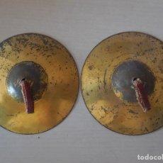 Juguetes antiguos de hojalata: PLATILLOS DE HOJALATA DE JUGUETE. ESPAÑA, AÑOS 30. TODO ORIGINAL¡¡¡. Lote 151087705