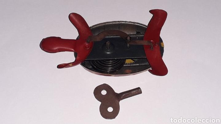 Juguetes antiguos de hojalata: Tortuga con mecanismo a cuerda, Juguetes Rico RSA made in Spain, original años 40. - Foto 7 - 157303202