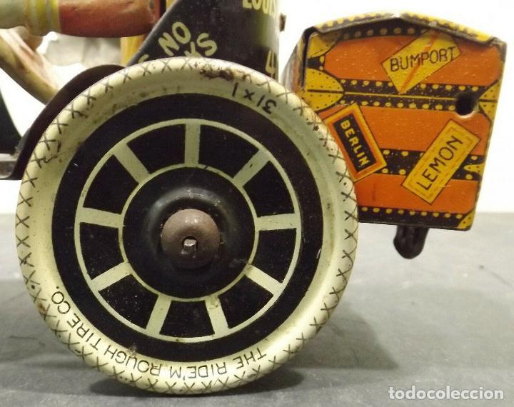 Juguetes antiguos de hojalata: COCHE ANTIGUO MARXS The ride m. Rough tire co. Vacuum Lizzie auto Oldtimer AÑOS 1920 RARISIMO 980 e - Foto 3 - 159442722
