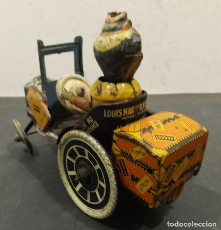 Juguetes antiguos de hojalata: COCHE ANTIGUO MARXS The ride m. Rough tire co. Vacuum Lizzie auto Oldtimer AÑOS 1920 RARISIMO 980 e - Foto 4 - 159442722