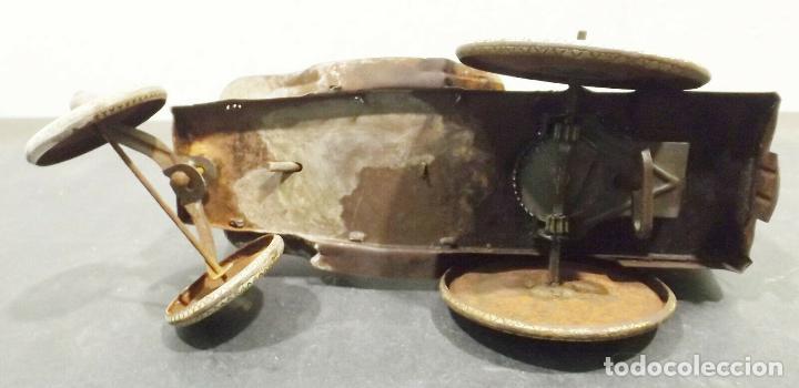 Juguetes antiguos de hojalata: COCHE ANTIGUO MARXS The ride m. Rough tire co. Vacuum Lizzie auto Oldtimer AÑOS 1920 RARISIMO 980 e - Foto 7 - 159442722