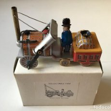 Juguetes antiguos de hojalata - Maquina de vapor de hojalata - 160308478