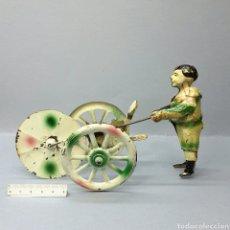 Juguetes antiguos de hojalata: FERCHEN.PAYASO. Lote 161391330