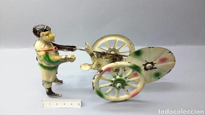 Juguetes antiguos de hojalata: FERCHEN.PAYASO - Foto 4 - 161391330