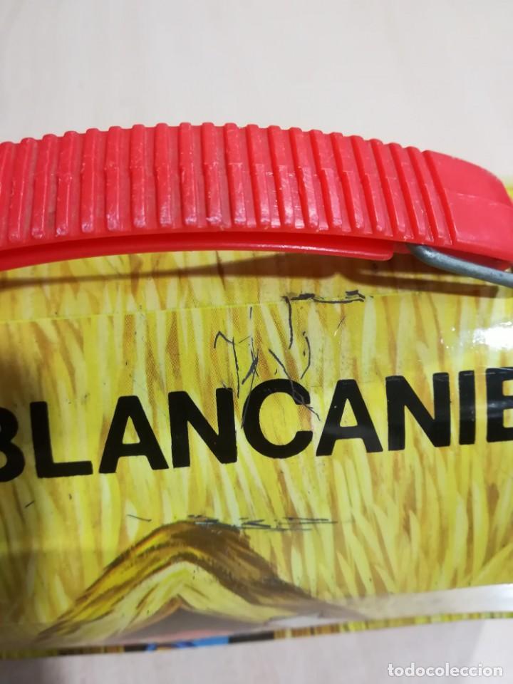 Juguetes antiguos de hojalata: antigua fiambrera cabas tartera caja hojalata blancanieves y los siete enanitos walt disney - Foto 7 - 162985862