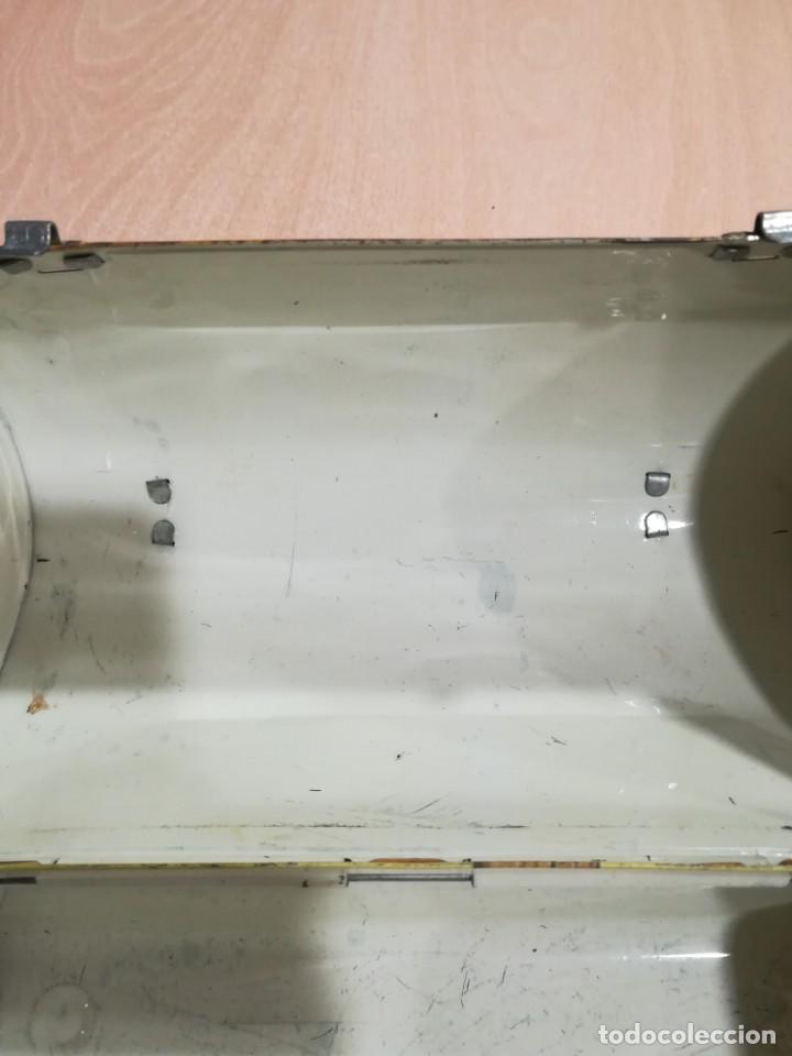 Juguetes antiguos de hojalata: antigua fiambrera cabas tartera caja hojalata blancanieves y los siete enanitos walt disney - Foto 17 - 162985862
