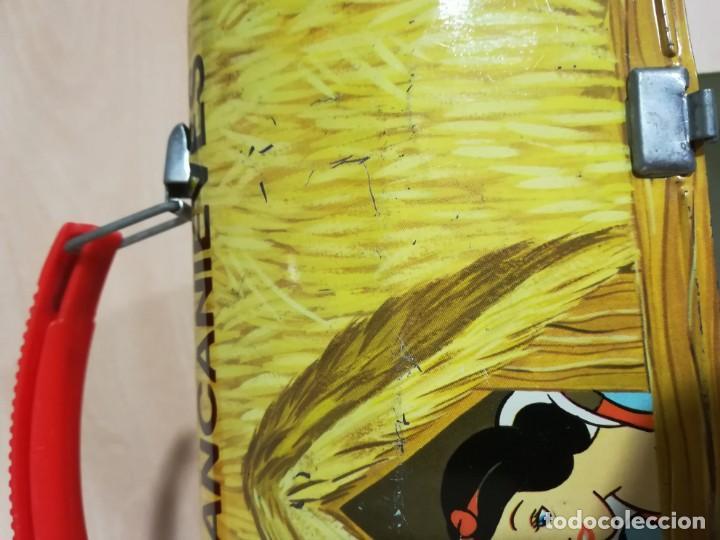 Juguetes antiguos de hojalata: antigua fiambrera cabas tartera caja hojalata blancanieves y los siete enanitos walt disney - Foto 20 - 162985862