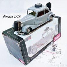 Juguetes antiguos de hojalata: SCHUCO REF 00053 MERCEDES BENZ 170 V GAS GENERATOR. Lote 93622195