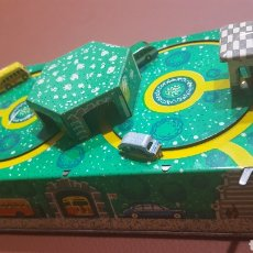 Juguetes antiguos de hojalata: JUGUETE HOJALATA 1969. CIRCUITO CIRCULAR. Lote 164608382