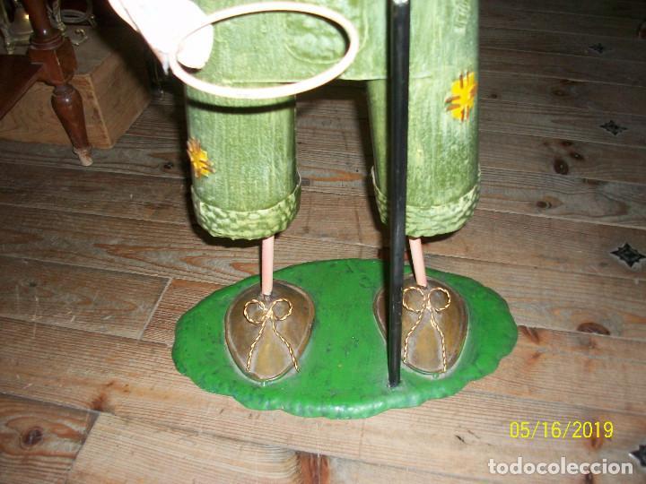 Juguetes antiguos de hojalata: MUÑECO DE HOJALATA - Foto 3 - 164620974