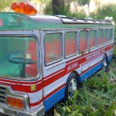 Juguetes antiguos de hojalata - Autobús hojalata japonés 1970 - 164907581