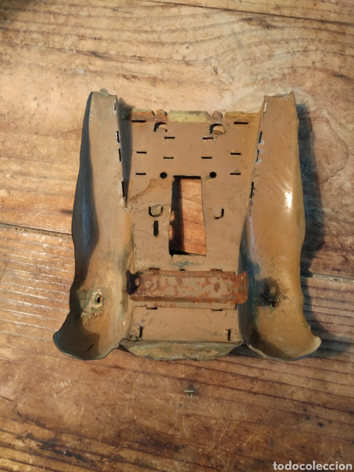 Juguetes antiguos de hojalata: Faldones guagua Rico años 30 - Foto 2 - 165540240