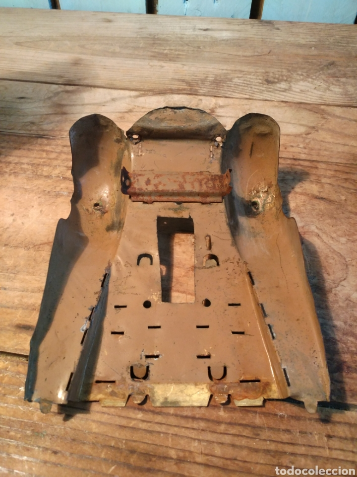 Juguetes antiguos de hojalata: Faldones guagua Rico años 30 - Foto 3 - 165540240