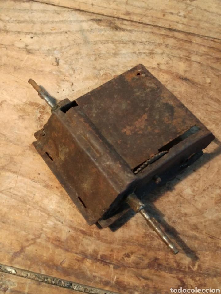 Juguetes antiguos de hojalata: Piezas ejes Autobús guagua Rico años 30 - Foto 2 - 165549658
