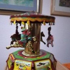 Juguetes antiguos de hojalata: JUGUETE TIO VIVO DE PAYA . Lote 166148114