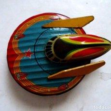 Juguetes antiguos de hojalata: NAVE ESPACIAL W-902 DE HOJALATA. Lote 166691802