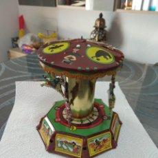 Juguetes antiguos de hojalata - ANTIGUO TIO VIVO DE CUERDA CON LLAVE MUY BUENA CONSERVACION - 165854202