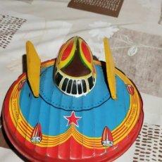 Juguetes antiguos de hojalata: PLATILLO VOLADOR TERRE-MARS. Lote 167513308