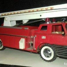 Tin Toys - Camion bomberos de hojalata - 167544048