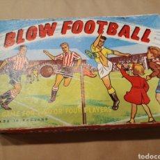Juguetes antiguos de hojalata: JUEGO DE FUTBOL BLOW FOOTBALL. Lote 167973440