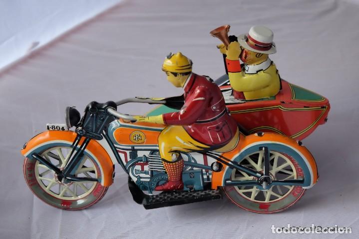 Juguetes antiguos de hojalata: Tres juguetes de hojalata, edición año 2000. - Foto 5 - 168813980