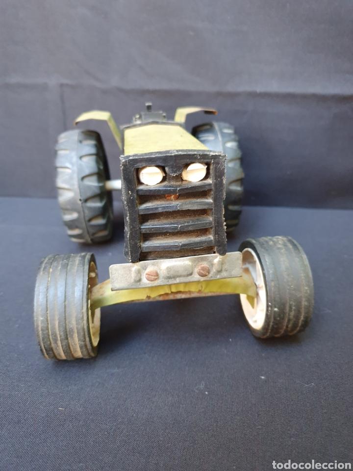 Juguetes antiguos de hojalata: Tractor hojalata Kino - Foto 4 - 169052232