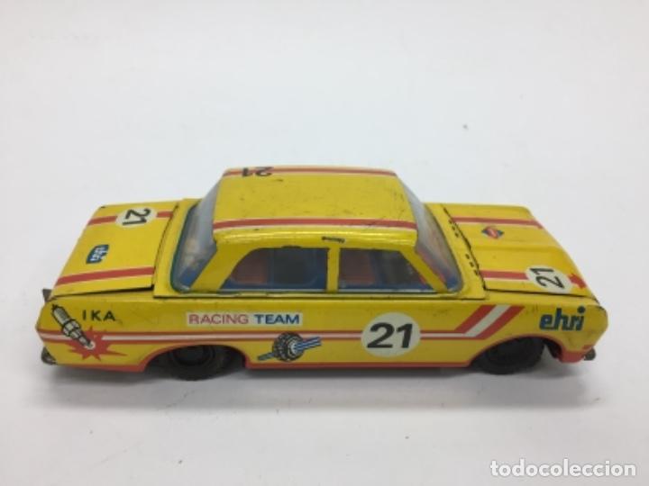 Juguetes antiguos de hojalata: EHRI. Coche de hojalata. 1970 Made in DDR. - Foto 4 - 169432912