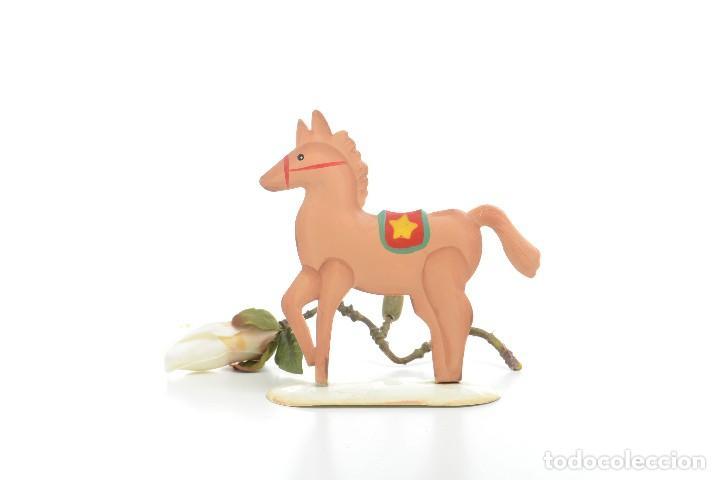 CABALLO DE HOJALATA, CABALLO VINTAGE, CABALLO JUGUETE, JUGUETE RETRO (Juguetes - Juguetes Antiguos de Hojalata Españoles)