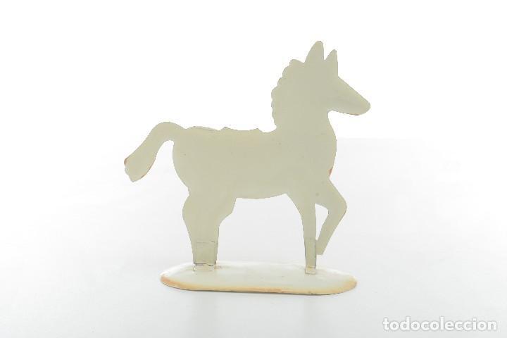 Juguetes antiguos de hojalata: Caballo de hojalata, caballo vintage, caballo juguete, juguete retro - Foto 4 - 170120604