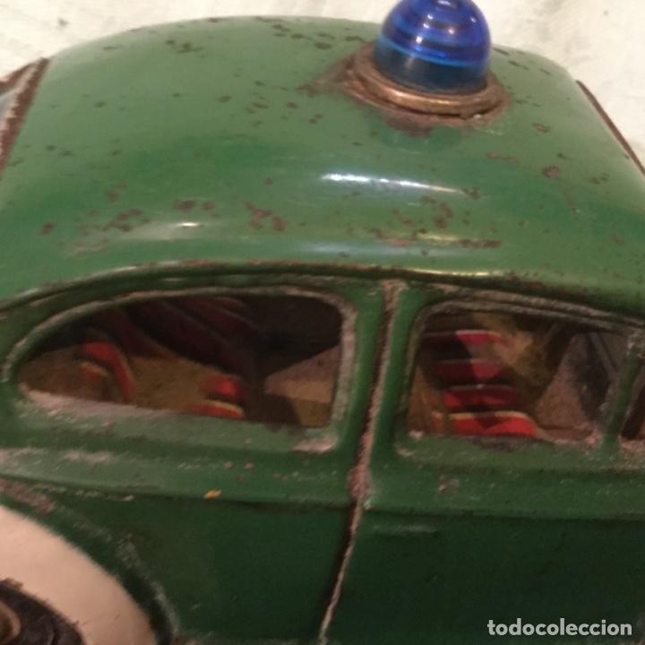 Juguetes antiguos de hojalata: ANTIGUO JUGUETE HOJALATA VOLKSWAGEN POLICIA CAR COCHE CHAPA MADE JAPAN TIN TOY - Foto 10 - 171096832
