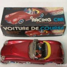 Juguetes antiguos de hojalata: AUTO RACING CAR, FABRIQUE EN CHINA. Lote 171819598