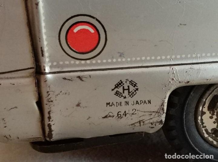 Juguetes antiguos de hojalata: furgon blindado hucha armored car savings bank hayashi japan antiguo años 60 - Foto 6 - 172009564