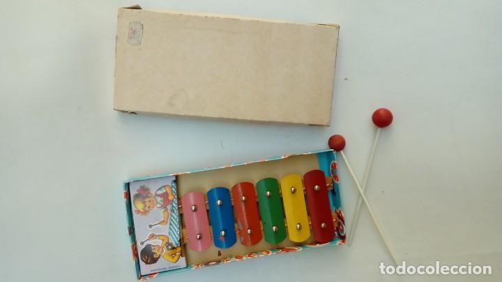 Juguetes antiguos de hojalata: xilofon-juguetes mediterraneo- - Foto 3 - 172062090