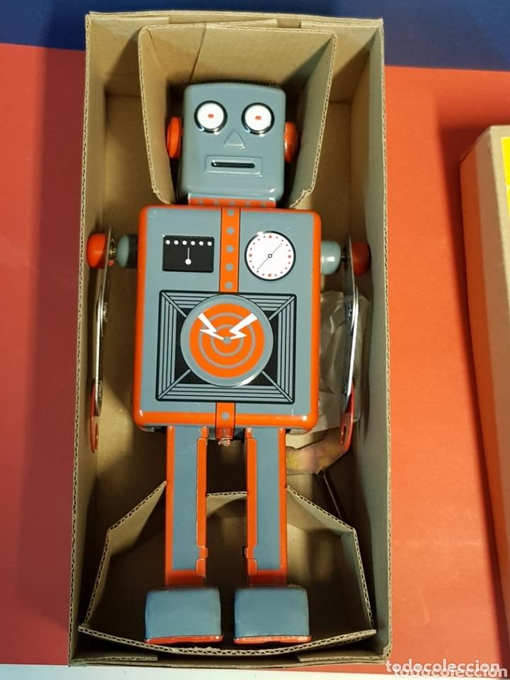 MECHANICAL ROBOT HOJALATA (Juguetes - Juguetes de Hojalata: Reproducciones y Actuales )
