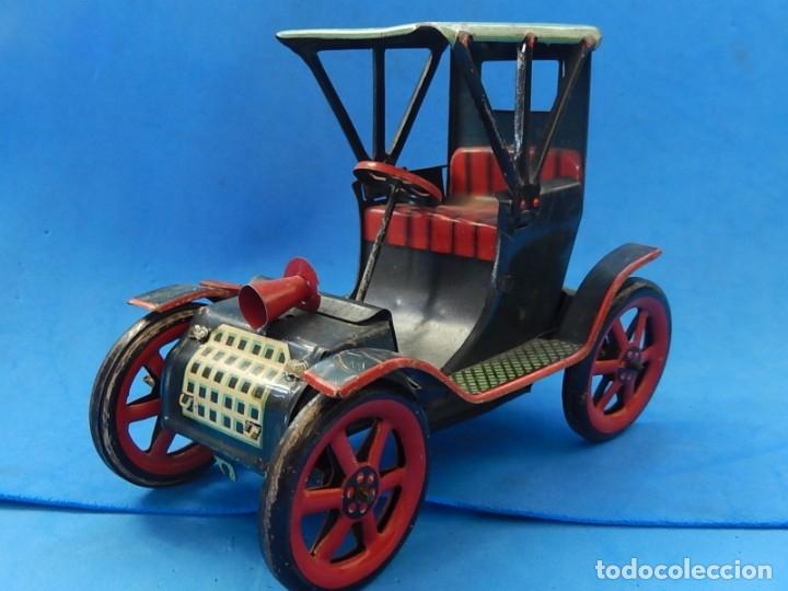 Juguetes antiguos de hojalata: Coche. Modern Toys. Fabricado en Japón. Japan. - Foto 2 - 172414849