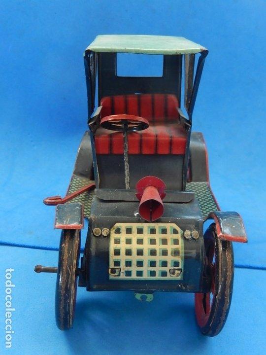Juguetes antiguos de hojalata: Coche. Modern Toys. Fabricado en Japón. Japan. - Foto 3 - 172414849
