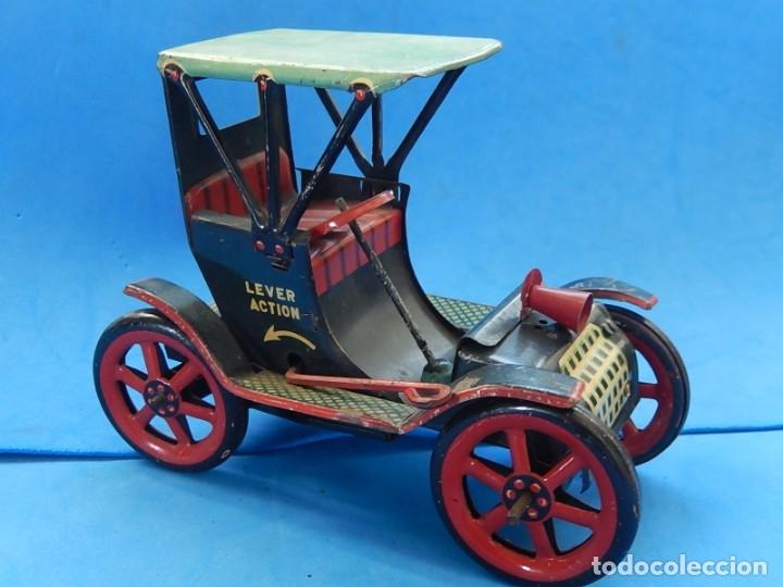 Juguetes antiguos de hojalata: Coche. Modern Toys. Fabricado en Japón. Japan. - Foto 4 - 172414849