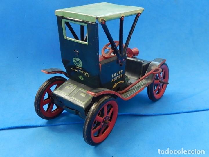 Juguetes antiguos de hojalata: Coche. Modern Toys. Fabricado en Japón. Japan. - Foto 5 - 172414849